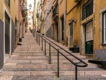 De straat van LISSABON Royalty-vrije Stock Foto's