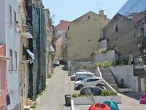 De straat van Lissabon Royalty-vrije Stock Afbeeldingen