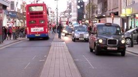 De straat van Londen stock videobeelden