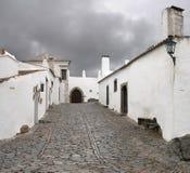 De straat van Monsaraz Royalty-vrije Stock Afbeeldingen