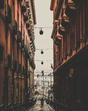 De straat van Napels Royalty-vrije Stock Afbeelding