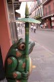 De straat van New Orleans Stock Foto