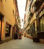 De straat van Nice Royalty-vrije Stock Foto
