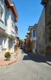 De straat van Oud Istanboel, Turkije Royalty-vrije Stock Afbeeldingen