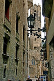 De straat van oude stad Stock Foto