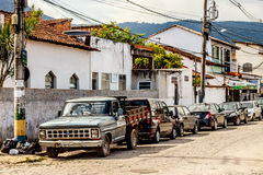 De straat van Paraty Stock Fotografie