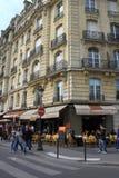 De Straat van Parijs Royalty-vrije Stock Afbeeldingen
