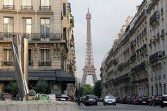 De Straat van Parijs Stock Afbeeldingen