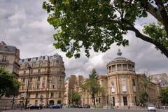 De straat van Parijs Stock Foto's