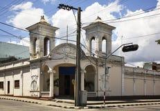 De straat van Paseogr Prado in Cienfuegos cuba Stock Afbeelding