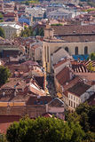 De straat van Pilies in oud-stad Vilnius Stock Afbeelding