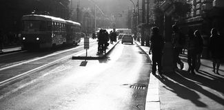 De straat van Praag royalty-vrije stock afbeeldingen