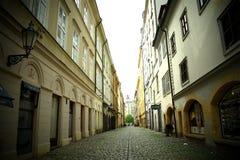De straat van Praag Royalty-vrije Stock Afbeelding