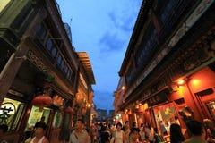 De straat van Qianmen Royalty-vrije Stock Fotografie