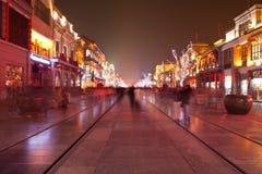 De Straat van Qianmen, Peking, China Royalty-vrije Stock Fotografie