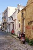 De straat van Rhodos royalty-vrije stock foto's