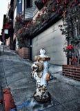 De straat van San Francisco Stock Afbeelding