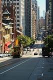 De straat van San Francisco royalty-vrije stock foto's