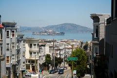 De straat van San Francisco stock foto's