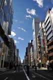 De Straat van Tokyo Royalty-vrije Stock Foto's
