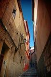 De straat van Toledo stock foto's