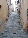 De straat van Toscanië stock afbeelding