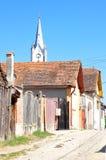 De straat van Transylvanian Stock Foto's