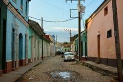 De straat van Trinidad Stock Fotografie