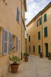 De straat van Tropez van Sait stock afbeeldingen