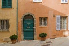 De straat van Tropez van Sait royalty-vrije stock fotografie