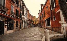 De straat van Venetië Stock Afbeeldingen