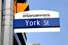 De straat van York royalty-vrije stock foto's