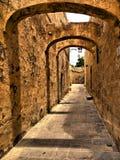 De Straat van Zenqa stock fotografie