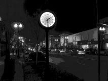 De straatachtergrond van de nacht Royalty-vrije Stock Foto