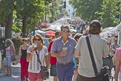 De Straatfestival van Belechere in Asheville, Noord-Carolina Royalty-vrije Stock Foto
