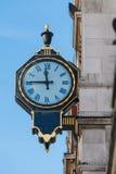 De straatklok van Londen stock afbeelding