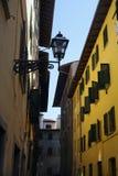 De straatlandschap van Florence Stock Foto