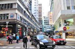 De straatlandschap van Tsimsha Tsui Stock Afbeelding