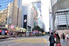 De straatlandschap van Tsimsha Tsui Stock Afbeeldingen