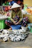 De straatmarkt van Vietnam Phu Quoc Royalty-vrije Stock Foto's
