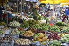 De straatmarkt van Vietnam Phu Quoc Royalty-vrije Stock Foto