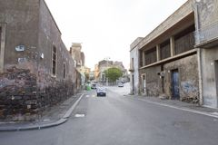 De straatmening van Catanië Royalty-vrije Stock Foto