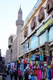 De straatmening van Egypte Kaïro in Afrika