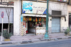 De straatmening van Egypte Kaïro Royalty-vrije Stock Afbeeldingen