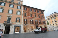 De straatmening van Italië Rome Royalty-vrije Stock Foto's