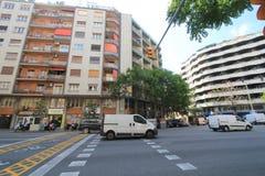 De straatmening van Spanje Barcelona Stock Foto's