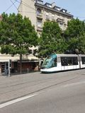 De straatmening van Straatsburg stock afbeelding