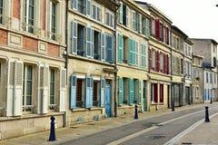 De straatmening van Verdun stock fotografie