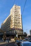 De Straatprins Michael Street van Knezmihailova in het centrum van stad van Belgrado, Servië stock afbeeldingen