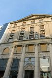 De Straatprins Michael Street van Knezmihailova in het centrum van stad van Belgrado, Servië royalty-vrije stock foto's